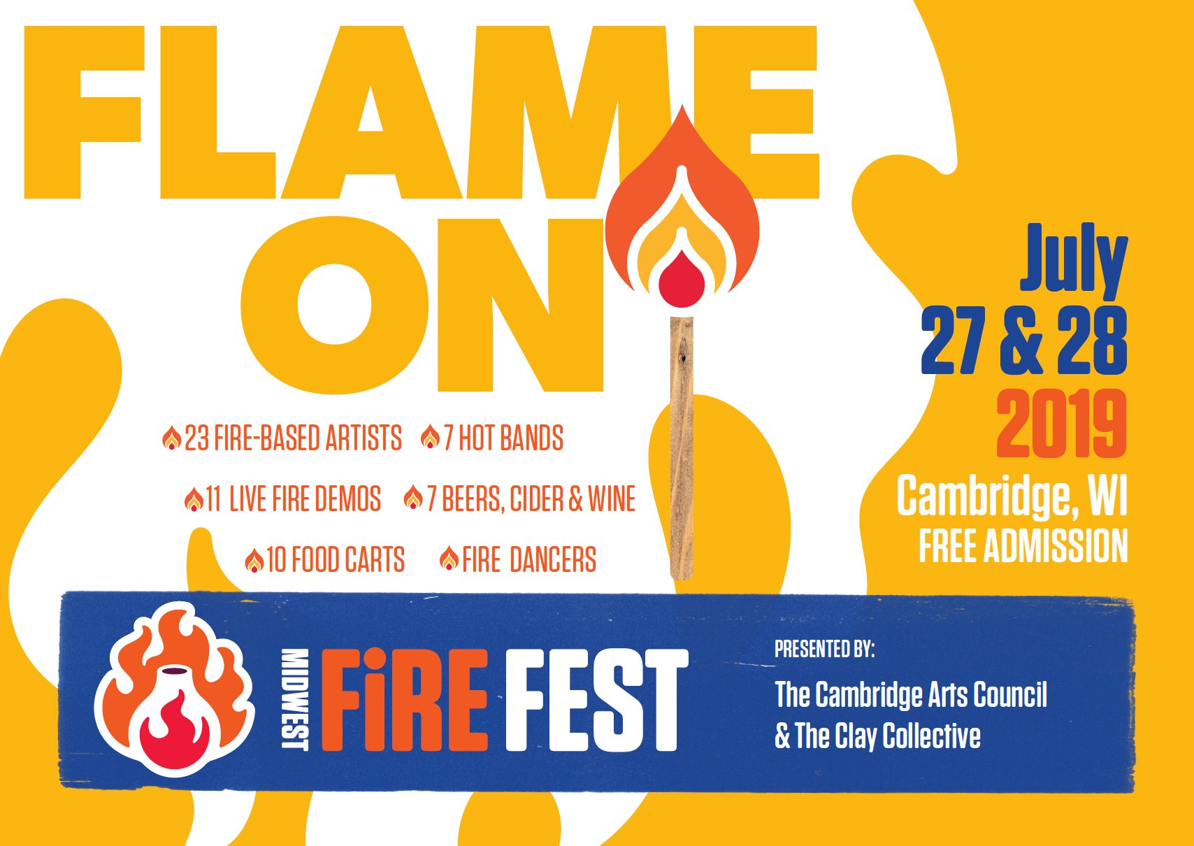 Midwest Fire Fest | An Arts Festival Featuring All Things